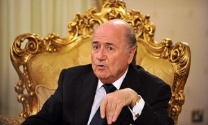 Blatter and his gilded throne