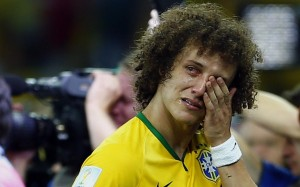 Luiz in tears as usual