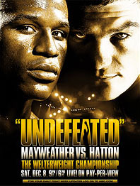 Mayweather Hatton poster
