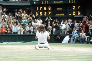Borg wins Wimbledon in 1980